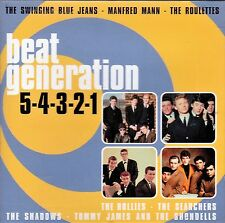 Beat Generation - 5-4-3-2-1 - Various Artists (NEW CD)