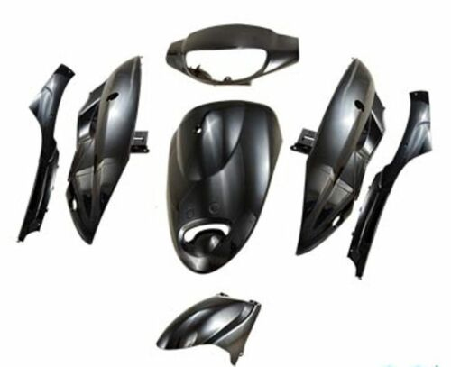 Fairing Set Fairing Fairing Parts in Black for GY6 China Scooter Qt