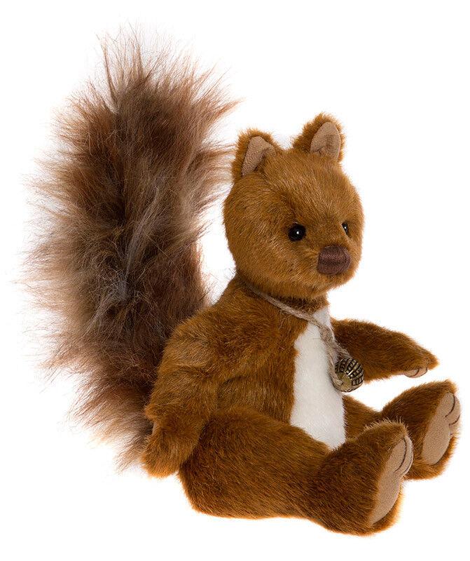Berwick by Charlie Bears collectable plush squirrel teddy bear - CB175119B