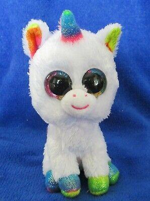 "6/"" TY Beanie Boos Glitter Eyes Pixy the Unicorn With Tag Gift Plush Stuffed Toys"