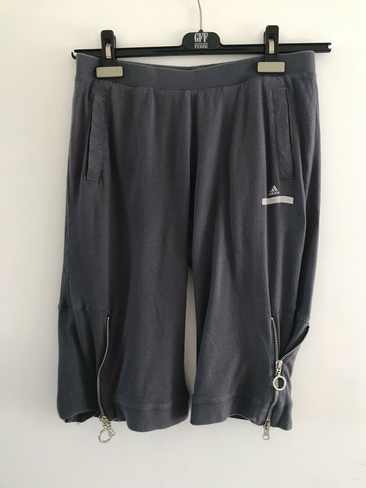 Rare Stella McCartney Zipper Side Knee Shorts Net A Porter