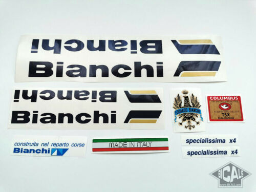BIANCHI SPECIALISSIMA X4 decal set sticker complete bicycle FREE SHIPPING