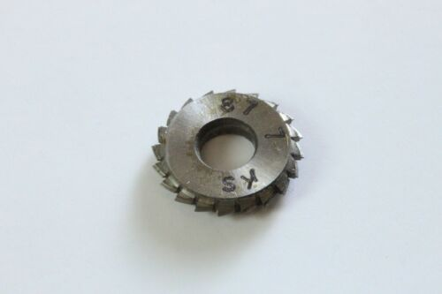 Fräser Zahnradfräser Triebfräser Modulfräser 87-7 m0,124 Uhrmacher AVS12196 BB7