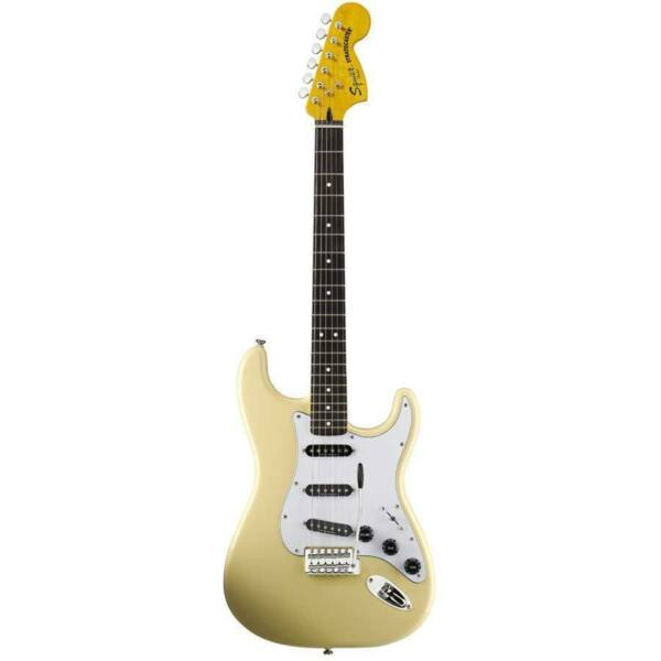 squier vintage modified 70s stratocaster white 70 39 s strat electric guitar for sale online ebay. Black Bedroom Furniture Sets. Home Design Ideas
