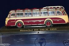 Atlas - Verlag DDR Auto 1:72 Modell Bus Henschel HS 100 N 1953