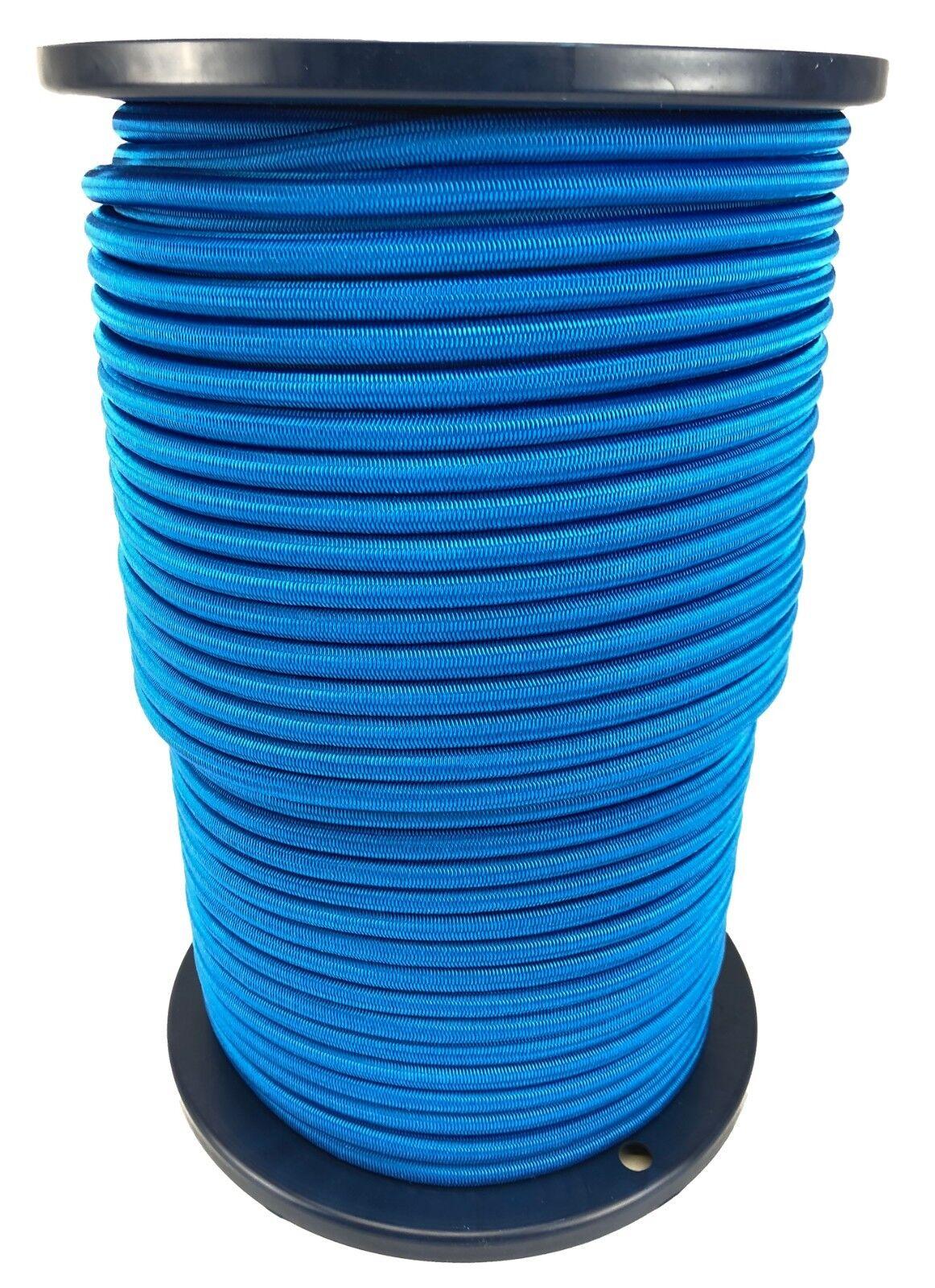 10mm Azul Real Cuerda Elástica Cuerda  Cordón Elástico Anclaje X 100 Metre Rollo  soporte minorista mayorista
