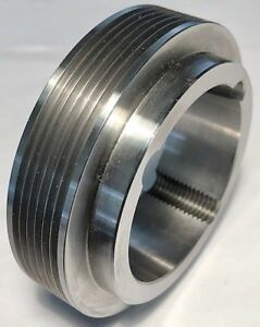 6J3.35 6-Groove Sheave Pulley Poly-V Takes 1610 Taper Lock Dodge 122961
