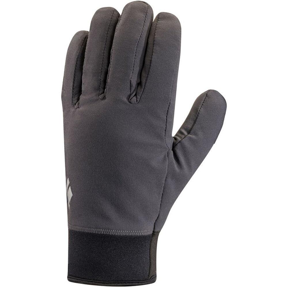 BLACK DIAMOND Midweight Softshell Glove - Smoke - L