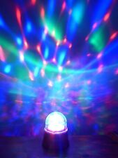 SALE 10cm Battery Operated Merry Christmas Xmas Decoration LED Lights Disco Ball