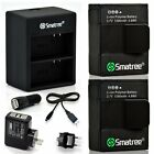 GoPro Battery Packs With Dual Charger By Smatree For GoPro Hero 3+ Hero 3 Camera