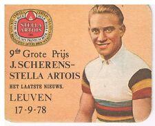 Data viltje Stella Artois : 9de Grote prijs J.Scherens Leuven 17-9-1978