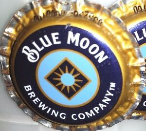New-Blue-Moon-Beer-Bottle-Cap-Earrings-Handmade