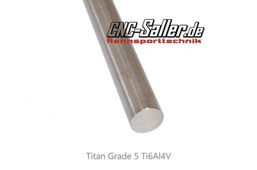 Titanstab Titanwelle 15Ømm Länge 500mm Titan Welle  Rundmaterial
