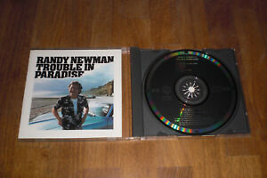 Randy-Newman-Trouble-dans-Paradise-Japon-CD-RARE-Black-Target-Smooth-Case
