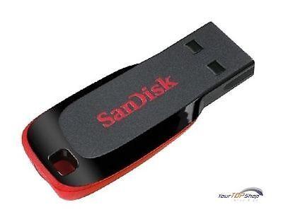Sandisk Cruzer Blade 32GB USB Stick 32 GB NEU OVP USB 2.0 SDCZ50-032G-B35