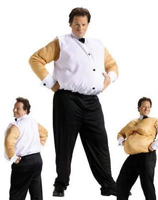 PM539826 Morris Costumes Adult Unisex Old Saggy Look Fat Suit Costume One Size