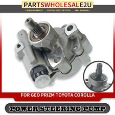 ECCPP 21-5875 Power Steering Pump Power Assist Pump Fit for 1993-1997 Geo Prizm 1993-1997 Toyota Corolla