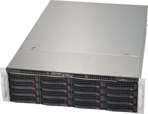 3U-Supermicro-16-Bay-32TB-SAS2-6Gbps-RAID-Direct-Attached-2x-Xeon-6-core-3-06Ghz
