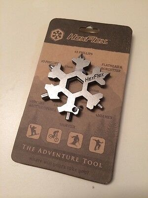 Multi Tool For Camping, Hunting, Fishing.stainles.Metric.