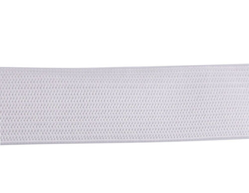 30 Meters Of White Clothing Elastic Band 20mm #92372