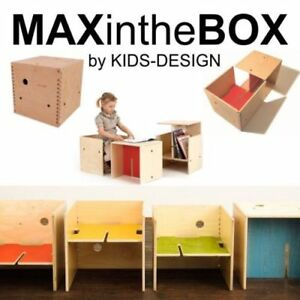 Image Is Loading Max In The Box Modular Chair Table Desk