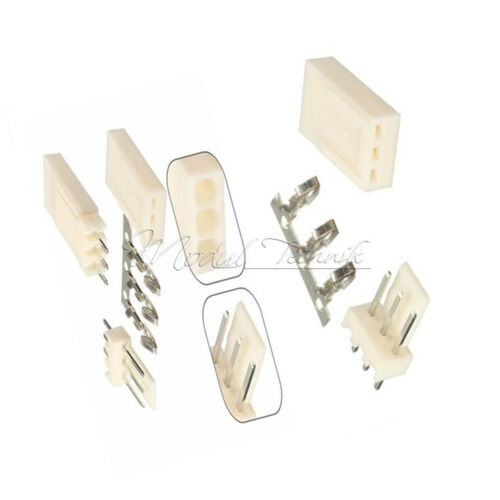 50*Housing Connector Kits Neu 50*Terminal 50Stks KF2510-3P 2.54mm Pin Header