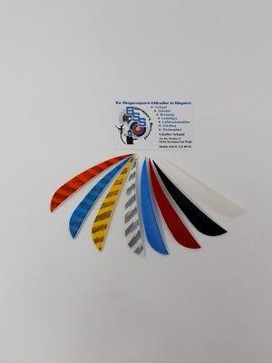 "Sporting Goods Outdoor Sports 6 X Naturfedern Gateway Parabolic 4"" R/w Bogenschießen 3d Pfeile Befiederung"