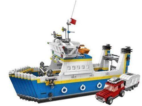 LEGO Creator 4997-Auto-FERRY FERRY-assemblé   Top  RARE  bienvenue à l'ordre