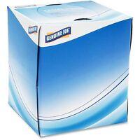 Genuine Joe Facial Tissue 2-ply Cube Box 85 /box 36/ct White 26085 on sale