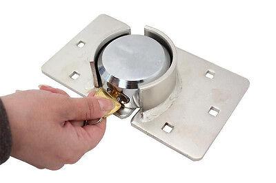 73MM Heavy Duty Padlock & Hasp Set for Security Door/Garage/Shed/Van Lock