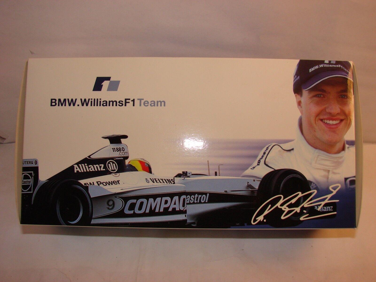 1 18 Williams BMW fw22, alliance, Ralf Schumacher, Minichamps dans neuf dans sa boîte