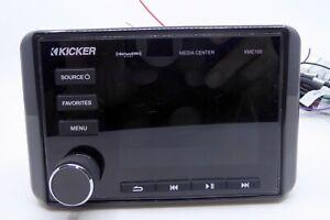 Kicker-Marine-Audio-Media-Center-Receiver-KMC100-USB-Bluetooth-Sirius-LCD-Displa
