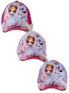 Disney Filles Princesse Sofia Casquette De Baseball - 3 Couleurs-tailles - 52 Cm/54 Cm-afficher Le Titre D'origine Facile à Lubrifier