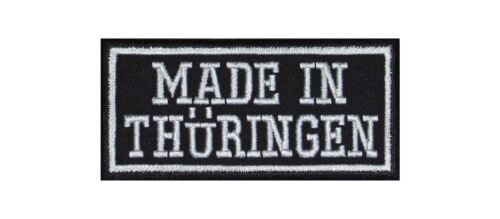 MADE in Turingia TH Biker Patch ricamate MC MOTO Land federale di Germania