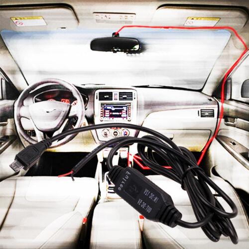 1 Stück Auto DC 12v zu 5v Micro//Mini USB Ladegerät GPS Tablet Recorder Ladekabel