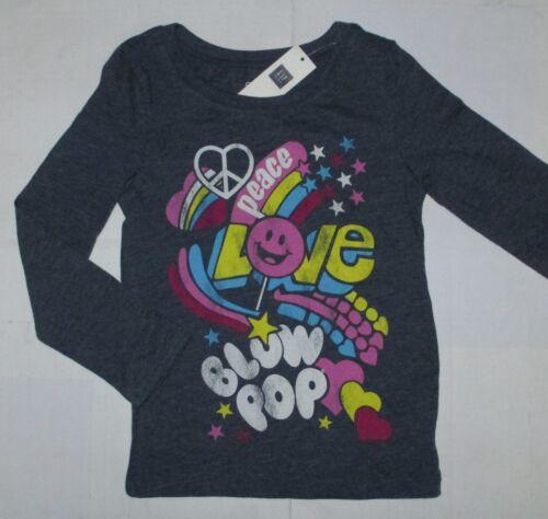 NEW NWT GAP Kids Girls Junk Food Peace Love Blow Pop Graphic Tee Top U Pick