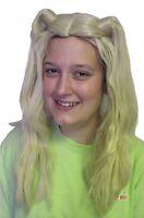 Child Blonde Super Star Long Pigtail Wig