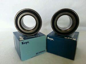 2 OEM Koyo L//R Axle FrOnt Wheel Bearings Kit for Honda Acura 44300-SB2-963J