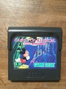 Castle of Illusion Mickey Mouse - Sega Game Gear