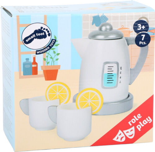 11115 Tea Set with Kettle for Play Kitchens Legler