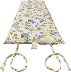 Yellow Traditional Japanese//Thai Floor Rolling Futon Mattresses 3 x 27 x 80