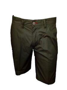 Bermuda-Uomo-100-Cotone-ASCOT-SPORT-tg-52-Pantaloncino-5-Tasche-Verde