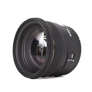 Sigma-50-mm-f1-4-EX-DG-HSM-50mm-Longitud-focal-fija-para-Canon