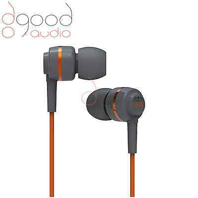 SoundMAGIC ES18 AWARD WINNING IN-EAR HEADPHONES / EARPHONES  ORANGE / GREY BNIB