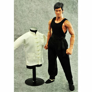 ZYTOYS-1-6-Scale-Bruce-Lee-Kungfu-Clothes-Set-Fit-for-12-034-Action-Figure