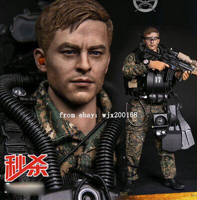 """DAMTOYS 78056 1//6 Marine Force Recon Combat Diver Piombo Peso F 12/"""" FIGURA MASCHILE"""