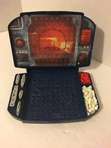 2002 Battleship Board Game Replacement Pieces One Station With All Ships