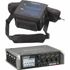Zoom F4 Multitrack Field Recorder with Timecode & Zoom PCF-8 Protective Case