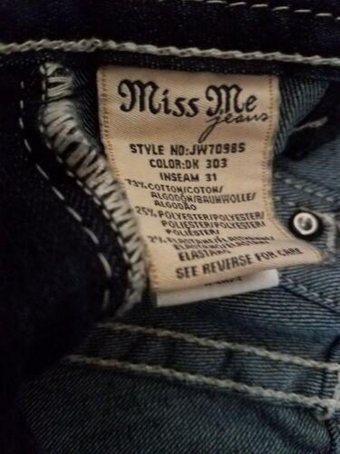 Impreziosito Me 27 Stretch Dark Jeans Signature Miss taglia Signature Wash Missny Mi pwfqfZPU