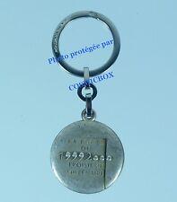 Porte-clés PICHARD Saumur en métal porte 3ème millénaire 1992 keychain keyring